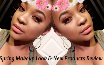Spring-Makeup-Tutorial-New-Products-Review