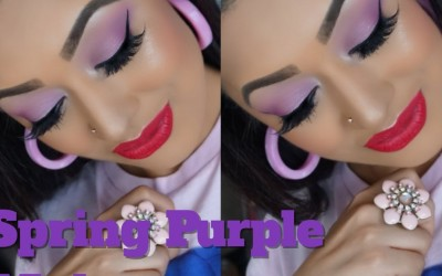Spring-Purple-Makeup-Tutorial