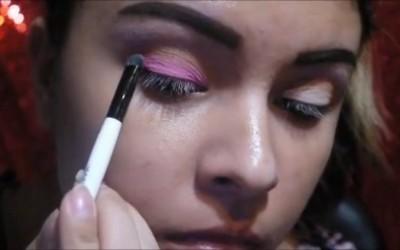 Sunset-Inspired-Makeup-tutorial-Sarah-Heart
