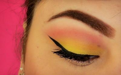Trucco-ROSA-e-GIALLO-Make-Up-Tutorial-SweetMakeup-