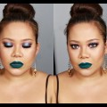 Turquoise-Lips-Bold-Eyes-Makeup-Tutorial-Juvias-Place-The-Masquerade-Palette