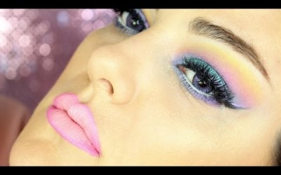 UNICORN-PASTEL-MAKEUP-FESTIVAL-MAKEUP-TUTORIAL