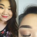 Brown-Smokey-Red-Lips-Makeup-Tutorial-Samanthaa-Her