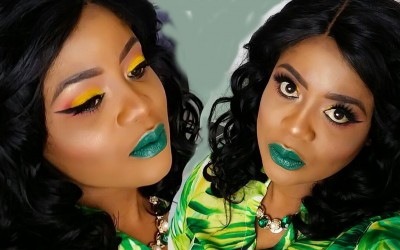 DRAMATIC-EYE-MAKEUP-TUTORIAL-AND-GREEN-LIPS.