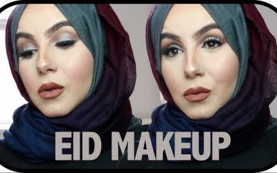 EID-MAKEUP-TUTORIAL-Blue-Smokey-Eyeshadow-Amina-Chebbi