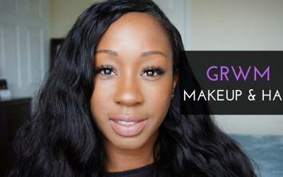 GRWM-MAKEUP-HAIRSPELLS-INSTALL-QUICK-WEAVE