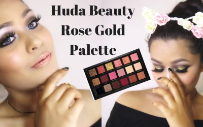 Huda-Beauty-Rose-Gold-Palette-Black-Gold-Eye-Makup-Girlymoon__