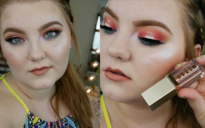 Peach-Bellini-Halo-Eye-Makup-Tutorial