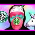 STARBUCKS-UNICORN-FRAPPUCCINO-MAKEUP-TUTORIAL