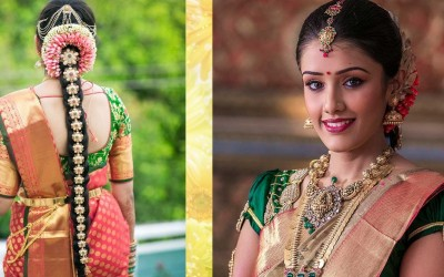 South-Indian-Bridal-Makeup-Hairstyle-Tutorial-Step-By-Step-Traditional-Bridal-Makeup-For-Wedding