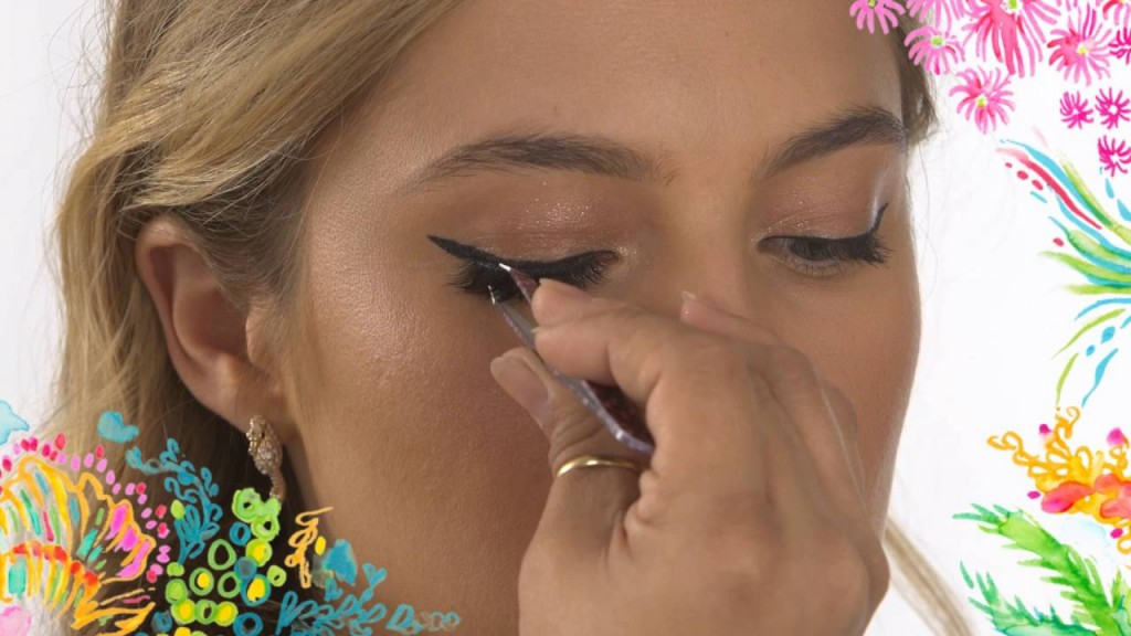 Get Lilly Pulitzer S Beachy Makeup Look