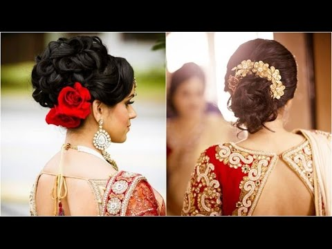 Best Indian Wedding Hairstyle Short And Quick Indian Bridal